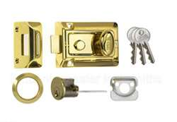 ERA Traditional night latch with rim cylinder